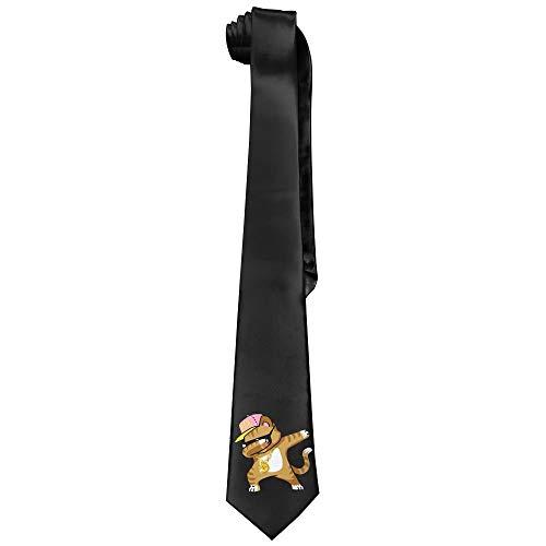 Hip Kostüm Hop Cat - Dabbing Cat Funny Cool Hip Hop Dabbing Kitten Design Mens Krawatte Fashion Silk Tie