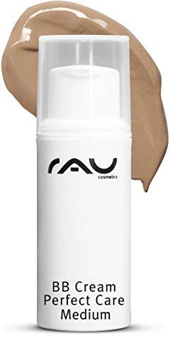 RAU BB Cream Perfect Care medium 5 ml - Gesichtspflege & Make-up in Einem - Perfekte Abdeckung + Pflege + UV-Schutz - mit Zink und Vitamin E
