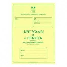 70960 - Livret Scolaire BAC PRO Agricole 3 Ans