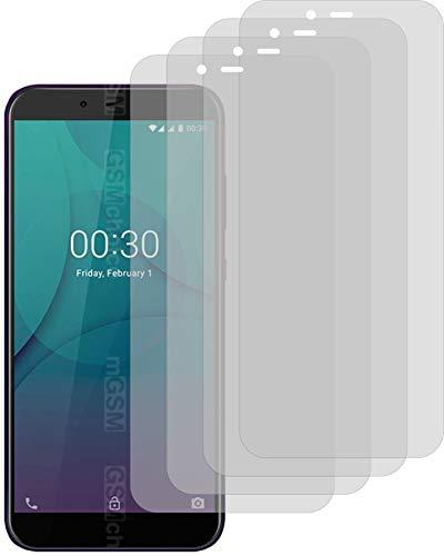 4X Crystal Clear klar Schutzfolie für Allview P10 Max Bildschirmschutzfolie Displayschutzfolie Schutzhülle Bildschirmschutz Bildschirmfolie Folie