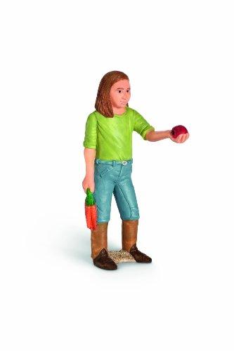 Preisvergleich Produktbild Schleich 13464 - Mädchen, fütternd