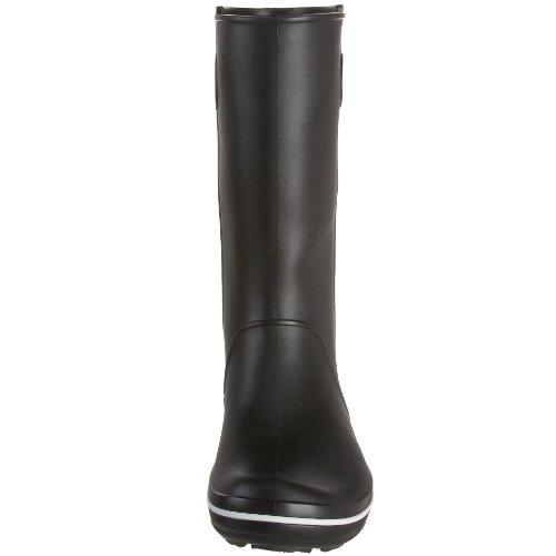 Crocs Crocband Jaunt Women, Bottes de Pluie fourrées femme Noir (Black)