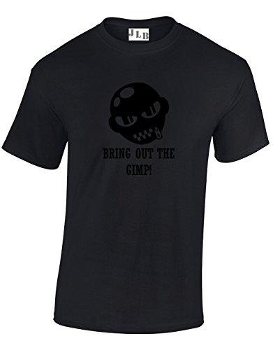 JLB Print Bring Out The GIMP Violent Gang Film Inspired Premium Quality Regular Fit T-Shirt Top for Men and Teens