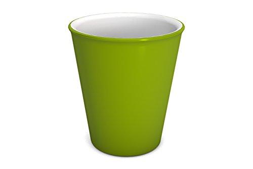 Ornamin Becher 300 ml grün (Modell 1206) / nachhaltiger Mehrweg-Becher Kunststoff