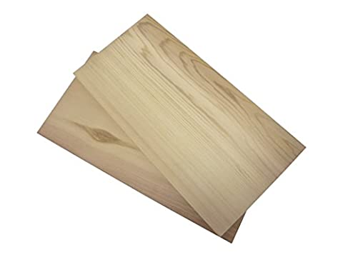 2x Grillbretter Räucherbretter Grillplanken Zedernholz Western Red Cedar Plank Grilling