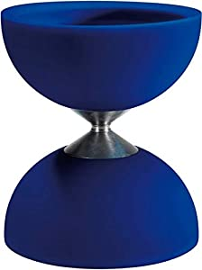 Eureka 515733 Acrobat 105 - Diábolo de Goma, Color Azul