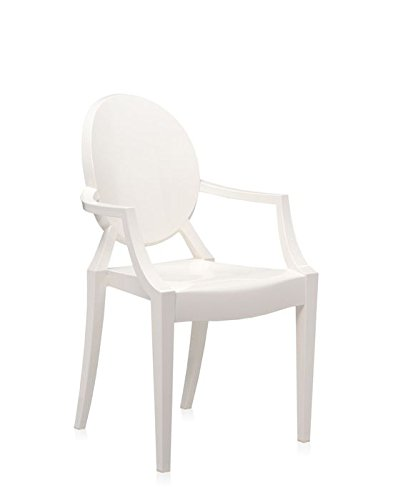 Kartell LOUIS GHOST Chaise lot de 2, blanc