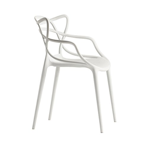 Superbe Cool Kartell Stuhl Masters Wei Philippe Starck Mit Eugeni Quitllet  Polyethylen Durchgefrbt Master Stapelstuhl With Masters Stuhl