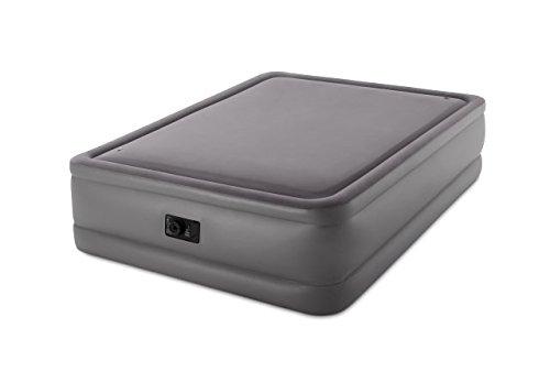 Intex Aufblasbares Bett Elektrische 2Personen Intex Foam Top Bed fiber-tech