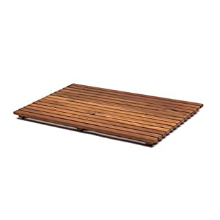 Asinox TEK4A5070 - wooden shower duck-board - brown 70 x 50 x 4 cm