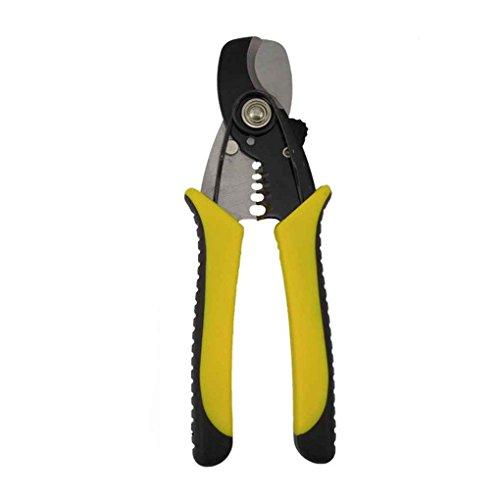 fish Multi Elektriker Zange Stahlschneider Crimper Terminal-Handwerkzeuge Abisolierzange -