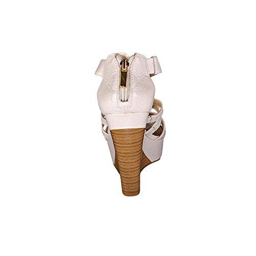INC International Concepts Cressida Cuir Sandales Compensés Marshmellow