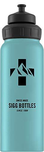 Sigg Unisex- Erwachsene Mountain Denim Touch Wasserflaschen, Blau, 1 -
