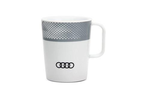 VW Audi Becher weiß, Werbemittel - 26000462