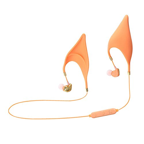 oth-Kopfhörer, Elf Ohren Bluetooth-Ohrhörer Kopfhörer Spirit Fairy Cosplay Schnurgebundenen Kopfhörer für Smartphone Iphone Ipad- (Bluetooth) (Avatar Kostüm Mädchen)