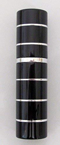 Rechargeables Parfum Atomiseur Atomiseur Après-rasage Voyage Spray Miniature Bouteille 5ml (Noir et Argent) …