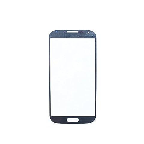BisLinks® vitre d'écran avec cadre bleu arctique pour Samsung Galaxy S4 i9500