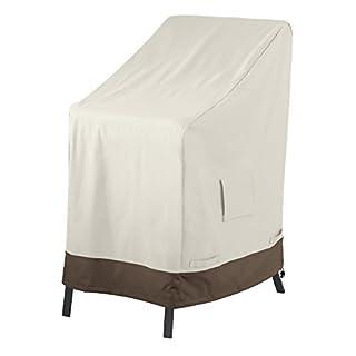 AmazonBasics Abdeckung für aufeinandergestapelte Gartenstühle