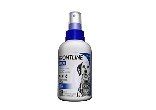 Frontline - Spray Anti-pulci/Anti-zecche per Cane e Gatto di Meno di 5kg, Utilizzabile...