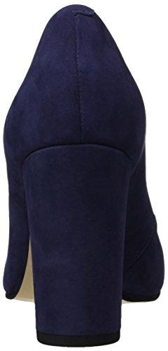 Buffalo London Zs 6553-16 Nobuck, Chaussures Femme À Talon Bleu (marinho 01)
