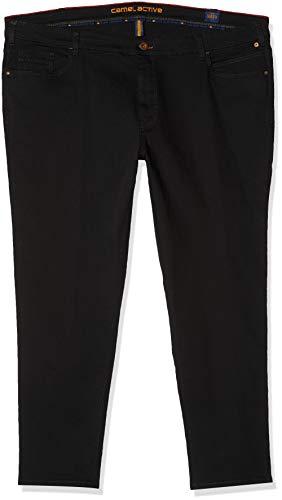 Camel Active Herren Straight Jeans, Schwarz(Forever Black 9), 36W / 34L