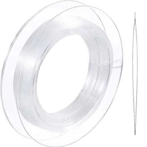 200 m Hilo Invisible Nylon Transparente Colgar Adornos