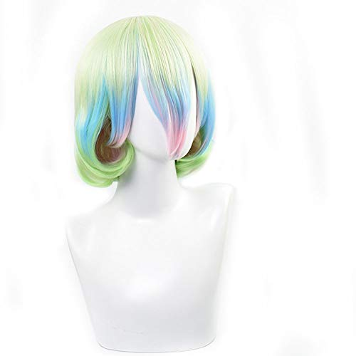 Cosplay Wig, Anime Charakter, Gradientfarbe,Color