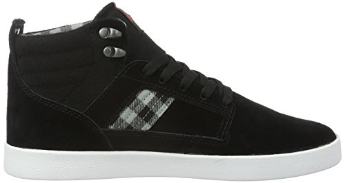 Supra BANDIT, Baskets hautes homme Noir (Black/Plaid Wht)
