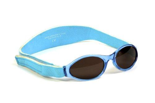 Kidz Banz sunglasses Aqua Blue 2 - 5 Y and Free Blue Car Glasses Case
