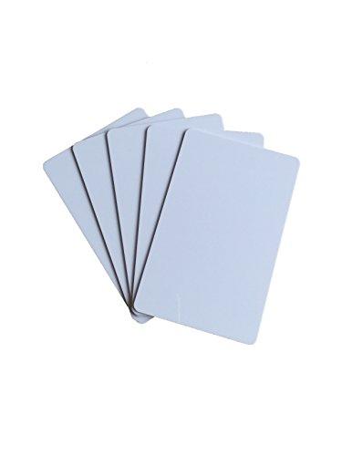 YARONGTECH mejor blanco plástico PVC tarjetas identificación