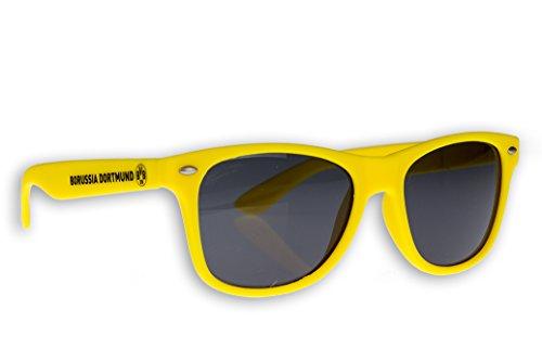 Borussia Dortmund Sonnenbrille BVB Fanbrille verschiedene Varianten (Gelb Kids) (Fußball-sonnenbrillen)