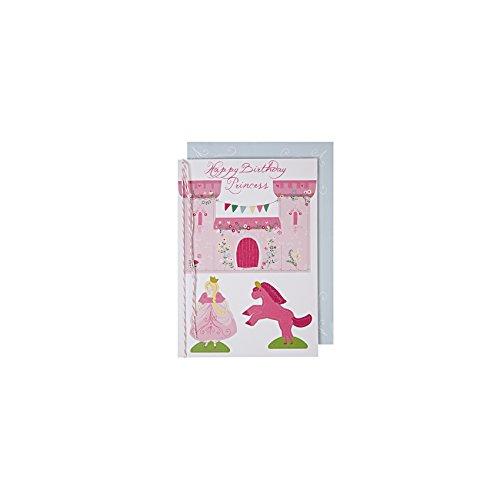 Meri Meri - Carte d'anniversaire Princess