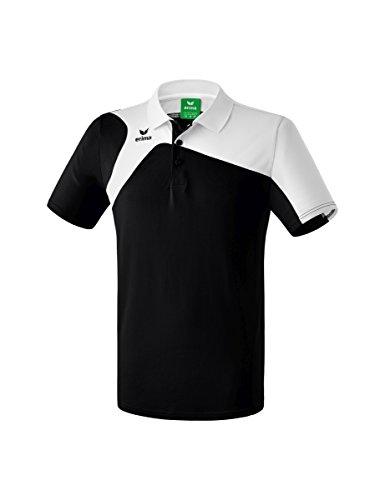 Erima Kinder Club 1900 2.0 Polo, schwarz/weiß, 140