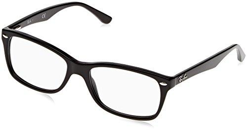 Ray-Ban RAYBAN Unisex-Erwachsene Brillengestell 0rx 5228 2000 55, Schwarz, 53