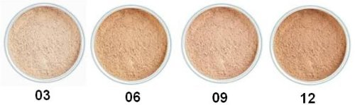Malu Wilz Just Minerals Powder Foundation Transparent Sand Purity