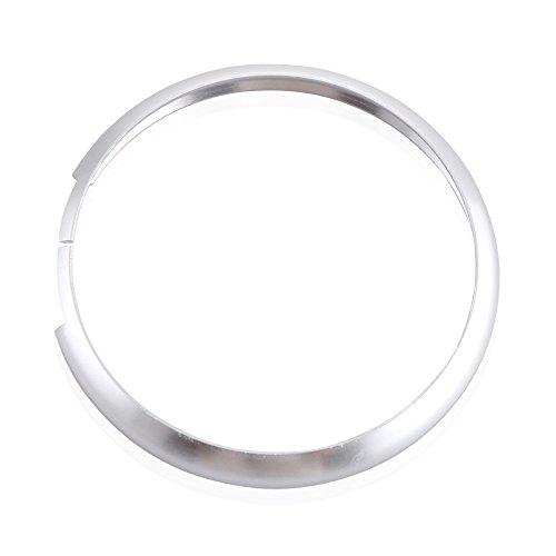 Preisvergleich Produktbild Smart - Schlüssel - Ersatz Ring Schmücken. | für 08-up Mini Cooper JCW R55 R56 R57 R58 R59 R60 | silber