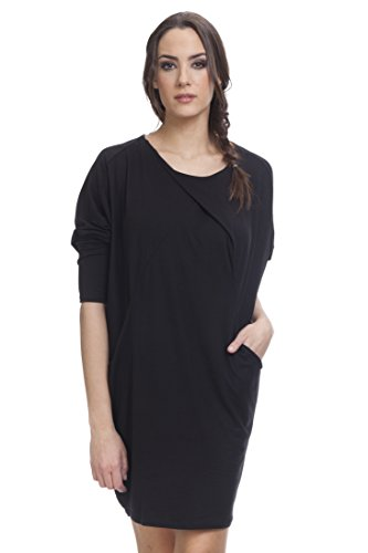 Tantra Damen Kleid, Casual Dress3020 Schwarz
