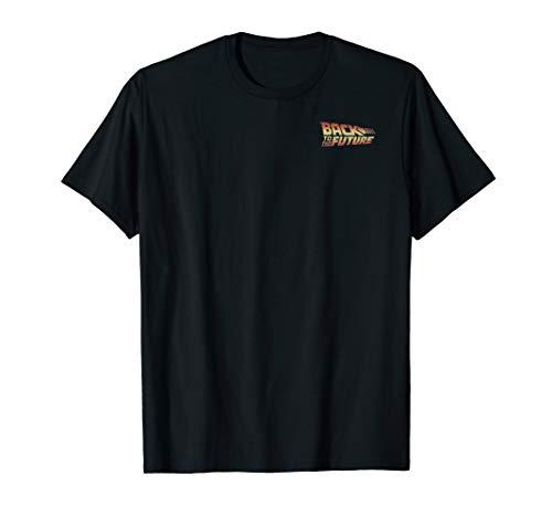 Back To The Future Faded Delorean Burnout T-Shirt -