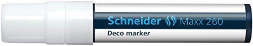 Schneider Maxx 260 Deco-Marker (5 - 15 mm) 5er Packung weiß