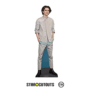 Star Cutouts Ltd- Star Cutouts CS847 Timothee Hal Chalamet Estrella Actor Americana Mini Altura 90 cm Ancho 29 cm, Multicolor