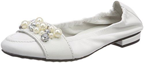 Kennel And Schmenger Ladies Malu Chiuso Ballerine Bianche (bianco / Perla)