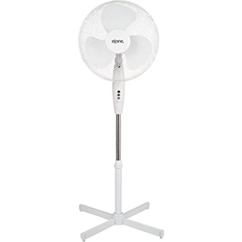 Fun Daisy 16 3 Speed Pedestal Oscillating Stand Fan Extendable Home Office 40Cm 16 Inch by Fun Daisy Home Series