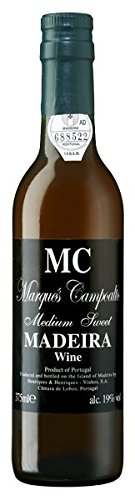 Marques Campoalto Madeirawein halbtrocken 0,375 l
