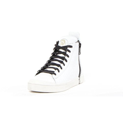 DIESEL - Baskets basses - Homme - Baskets Montantes Zip Noir All Over S-Nentish pour homme