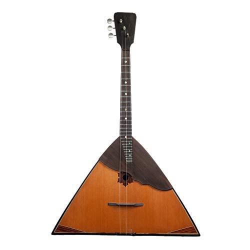 Shiwaki Klassisches Russisches Volksinstrument Balalaika 3 Saiten, Tolles Weihnachtsgeschenk