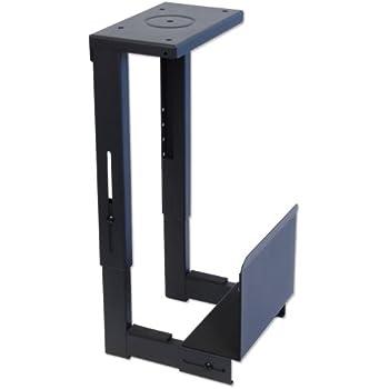Lindy 40283 Support PC pour montage sous bureau Noir