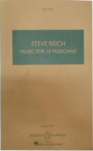 Music for 18 Musicians: For Ensemble (Hps 1239)