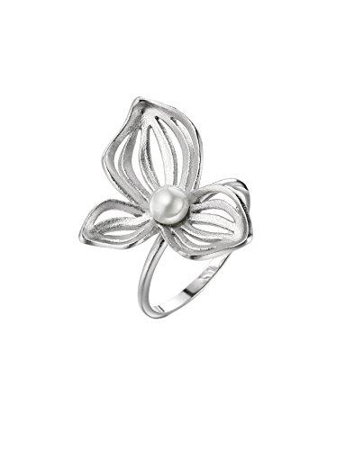 925 Silber Ring Blumen 3 Kronblatt Neoglory (Ist Company Halloween Kostüm Drei Für)