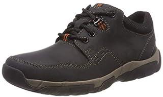 Clarks Walbeck Edge II, Zapatos de Cordones Derby para Hombre, Negro (Black Leather), 44.5 EU (B07B3XX8S8) | Amazon price tracker / tracking, Amazon price history charts, Amazon price watches, Amazon price drop alerts