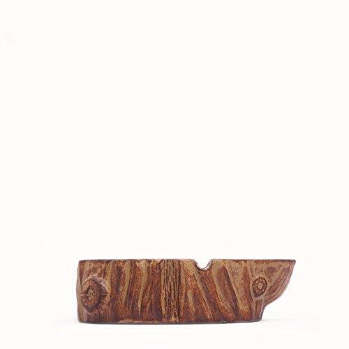 Amerikanische Antike Möbel (LOSTRYY Einfache amerikanische Aschenbecher Retro Möbel kreative raue Holz Farbe Rauch Tasse)
